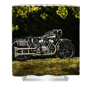 Brough Superior Ss 100 Shower Curtain
