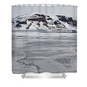 Brown Bluff, Antarctica Shower Curtain