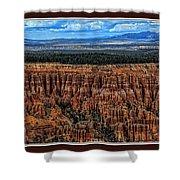 Bryce Canyon II Shower Curtain