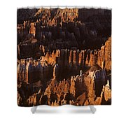 Bryce Canyon National Park Hoodo Monoliths Sunrise Southern Utah Shower Curtain