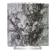 bSeter Elyion 26 Shower Curtain by David Baruch Wolk