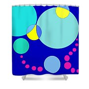 Bubble Two Shower Curtain