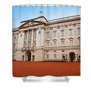 Buckingham Palace In London Uk Shower Curtain