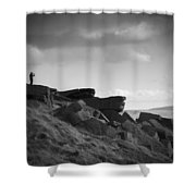 Buckstone Edge Shower Curtain