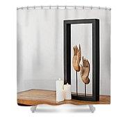 Buddhas Hands Shower Curtain