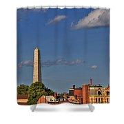 Bunker Hill Monument - Boston Shower Curtain
