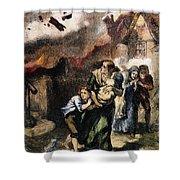 Burning Of Norfolk, 1776 Shower Curtain