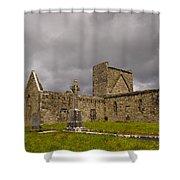Burrishoole Friary, Ireland Shower Curtain