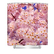 Bursting With Blossoms Shower Curtain