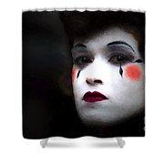 Busker Shower Curtain