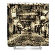 Butlers Wharf London Vintage Shower Curtain