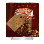 Butter Toffee Pecan Nuts With Himalania Salt Shower Curtain