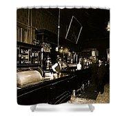 Cabinet Club Saloon 68 W. Congress Tucson Arizona C.1910-2008 Shower Curtain