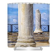 Caesarea Maritima Shower Curtain
