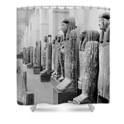 Cairo Egyptian Mummies Shower Curtain