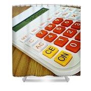 Calculator Shower Curtain