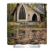 Callaway Gardens Chapel-pine Mountain Georgia Shower Curtain