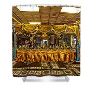 Cambodian Buddist Temple Shower Curtain
