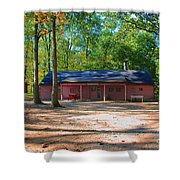 Camp Milton Shower Curtain