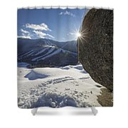 Cannon Mountain - White Mountains New Hampshire Shower Curtain