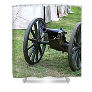 Canon Shower Curtain