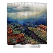 Canyon Clouds Shower Curtain