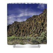 Canyon Walls 3 Shower Curtain