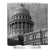 Capitol At Dawn Shower Curtain