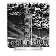 Capitol Building Of Louisiana Shower Curtain