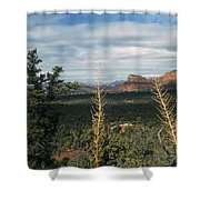 Capitol Butte Shower Curtain