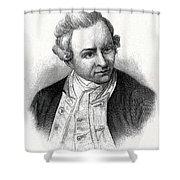 Captain James Cook, British Explorer Shower Curtain