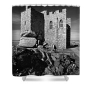 Carn Brea Castle Shower Curtain