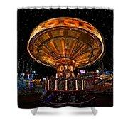 Carnival Night Shower Curtain