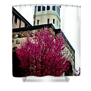 Carter Hall Tower Shower Curtain
