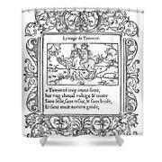Cartouche, 1543 Shower Curtain