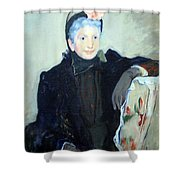 Cassatt's Portrait Of An Elderly Lady Shower Curtain