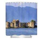Castelli Di Cannero Shower Curtain