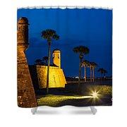 Castillo De San Marcos St. Augustine Florida Shower Curtain