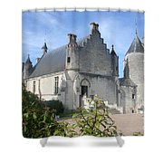 Castle Loches - France Shower Curtain