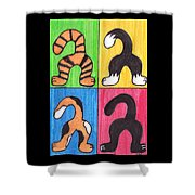 Cat Tails - Primary Shower Curtain