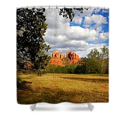 Cathedral Clearing Shower Curtain
