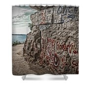 Cave In Rock Illinois Shower Curtain