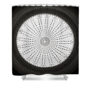 Ceiling Dome Shower Curtain