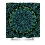 Celtic Corrugation Shower Curtain
