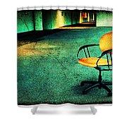 Chair2 Shower Curtain