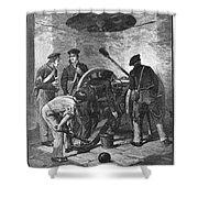 Chapultepec, 1847 Shower Curtain
