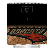 Charlotte Bobcats Shower Curtain
