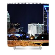 Charlotte Towers Shower Curtain