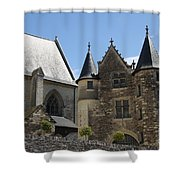 Chateau D'angers  Shower Curtain