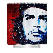 Che Shower Curtain by Chris Mackie